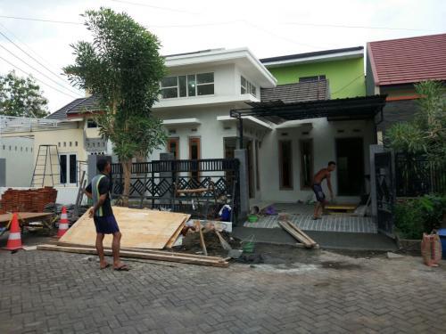 Konstruksi Rumah 1 lantai Pasuruan