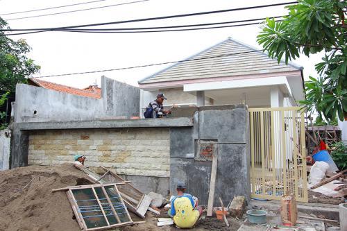 Kontruksi rumah 1 lantai